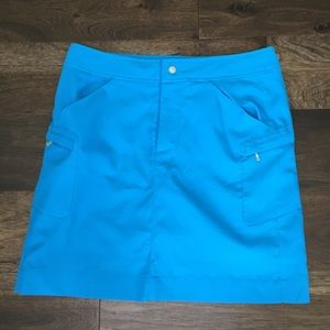 Antigua Sky Blue Golf Skirt/Skort - 8